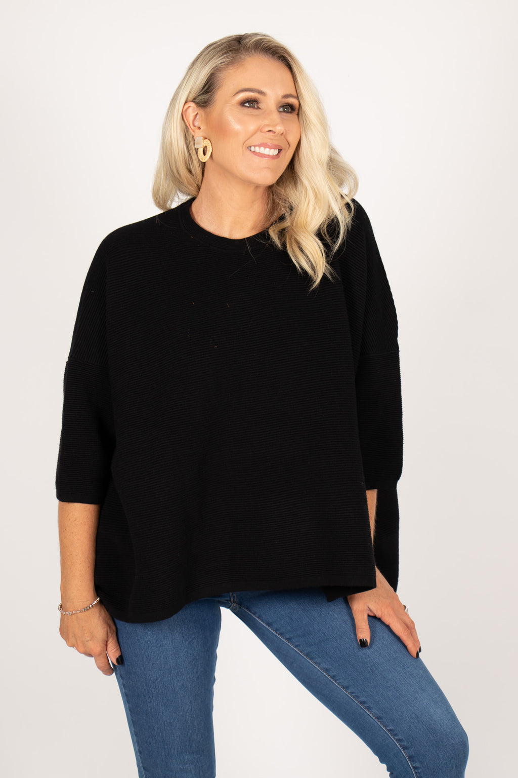 Nicola Knit in Black