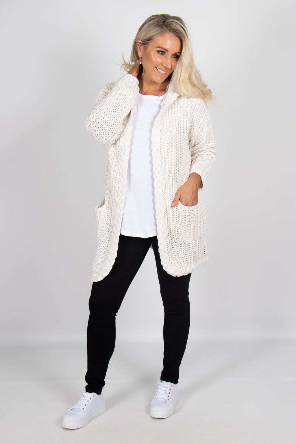 Lucile Cardi in Ivory