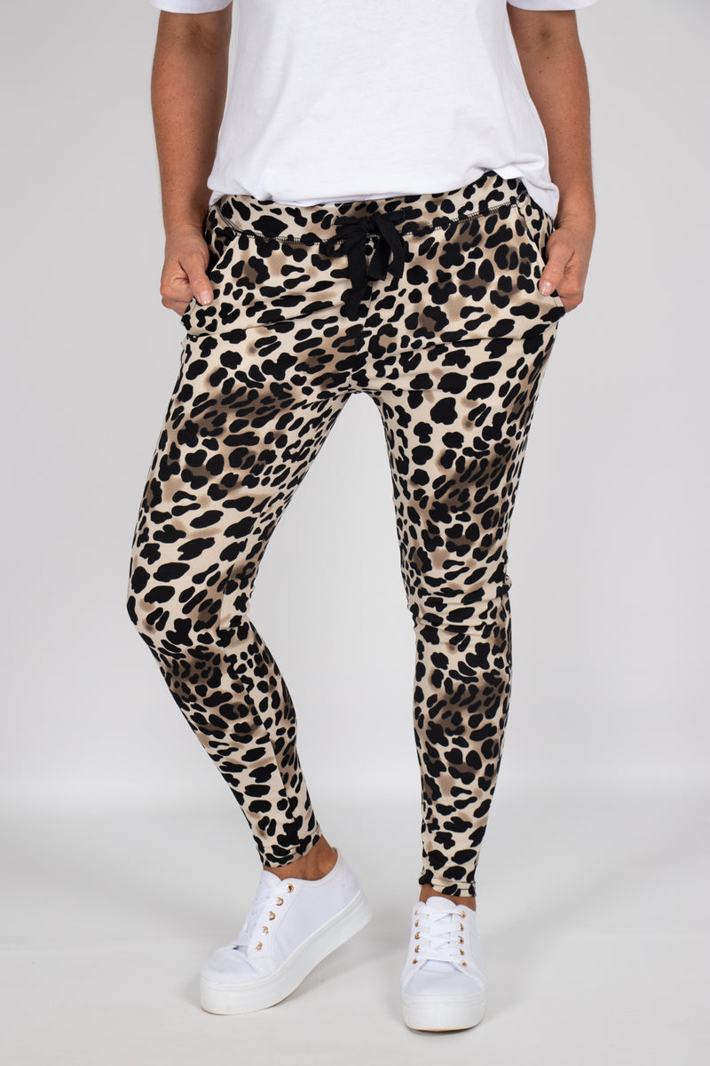 Hayden Pants in Cheetah