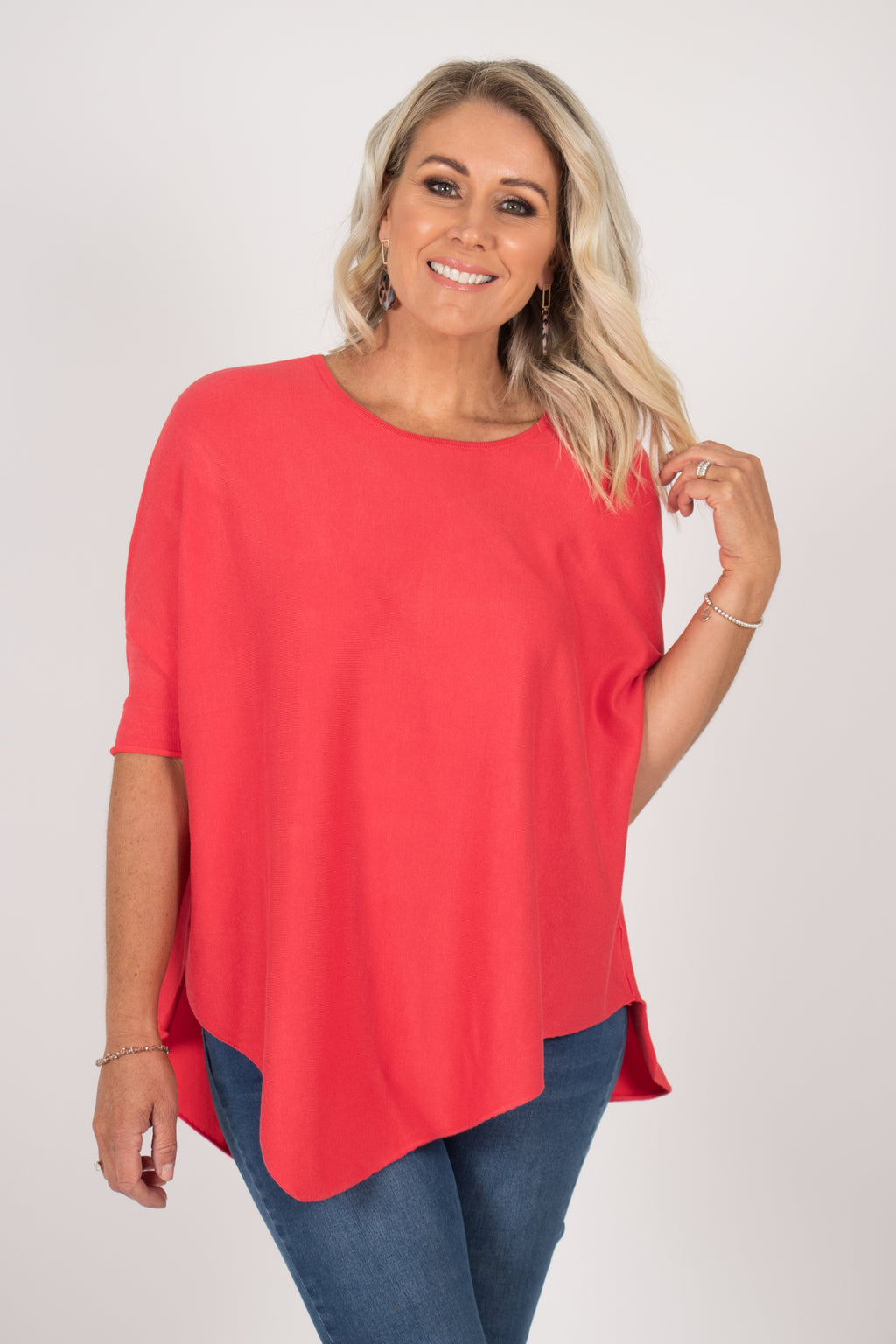 Charlie Knit Top in Watermelon