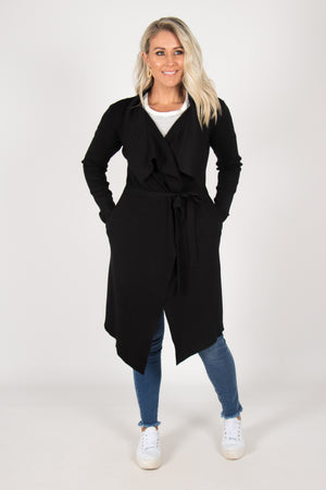 Julianna Cardi in Black