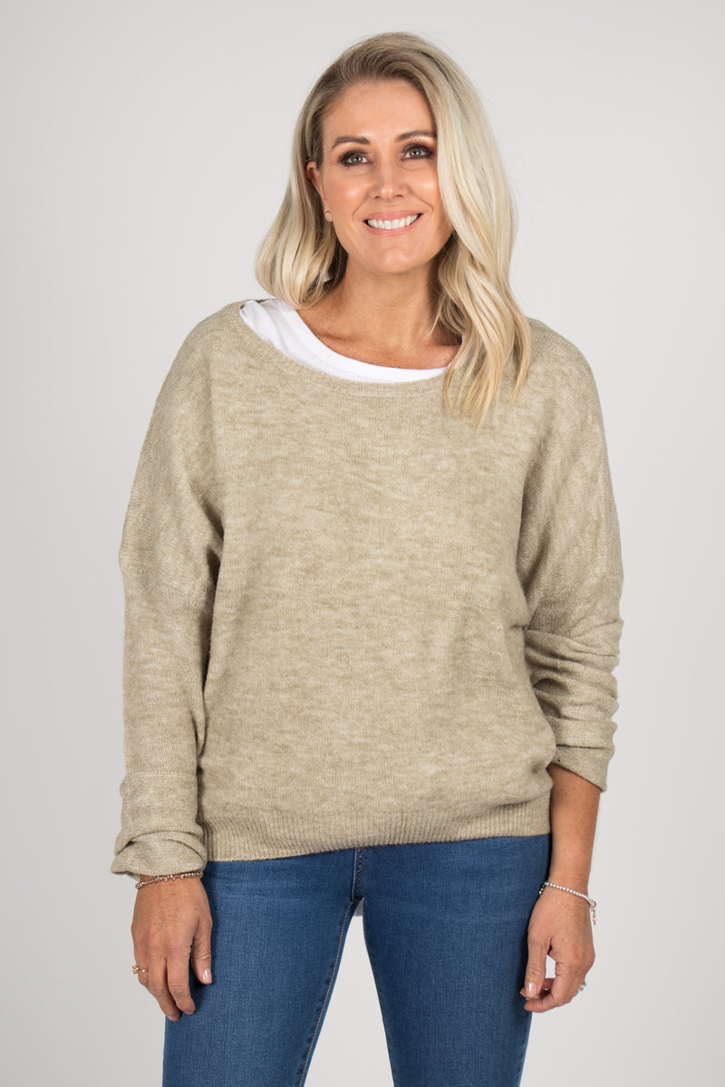 Lennox Slouch Knit in Tawny