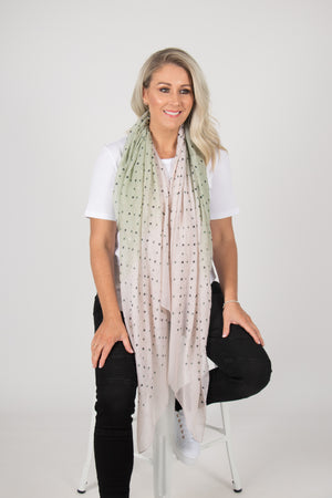 Kendall Scarf in Shady Apple