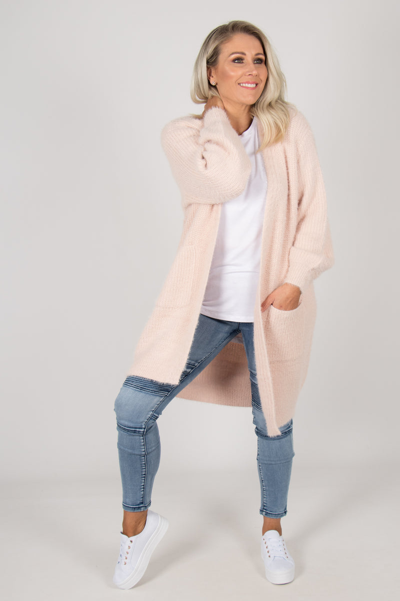Cherish Cardi in Soft Pink