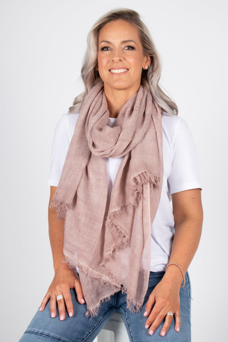 Lovatt Scarf in Blush