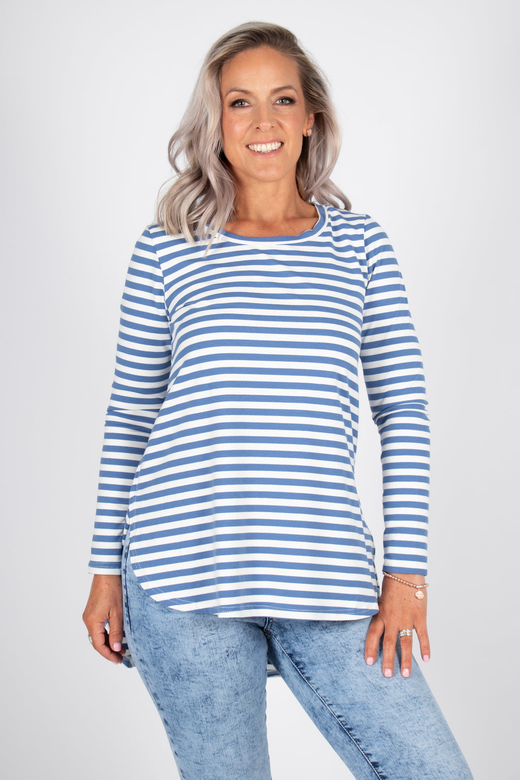 Carrington Top in Blue