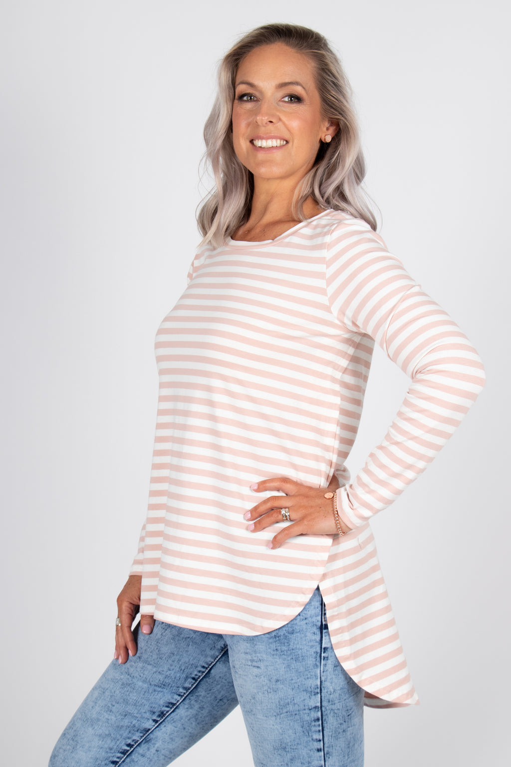 Carrington Top in Pink