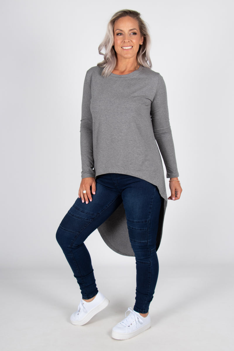 Cove Top in Grey
