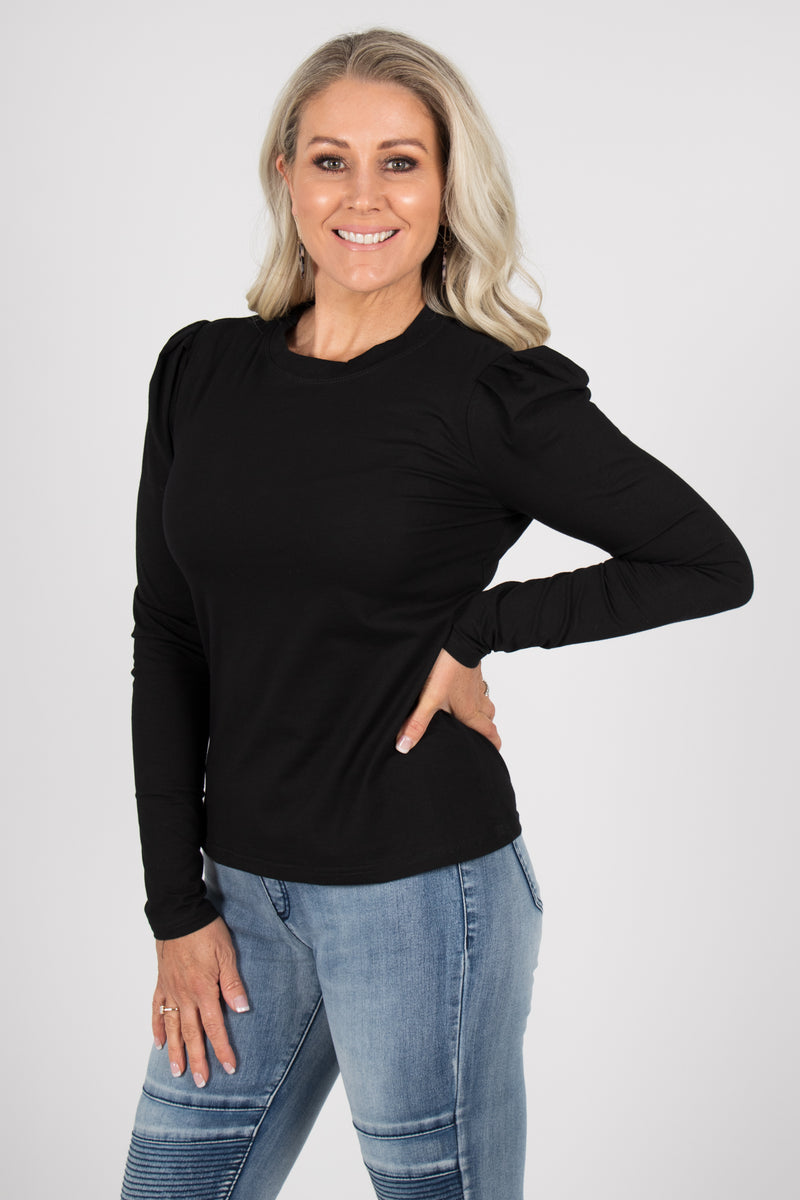 Loveday Top in Black