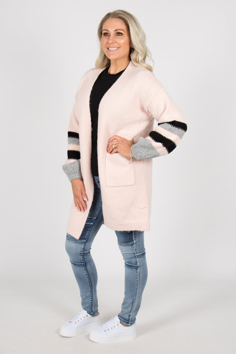 Millie Cardi in Blush