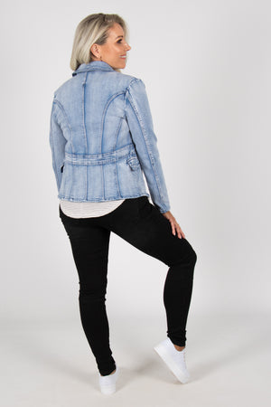Newport Denim Jacket in Light
