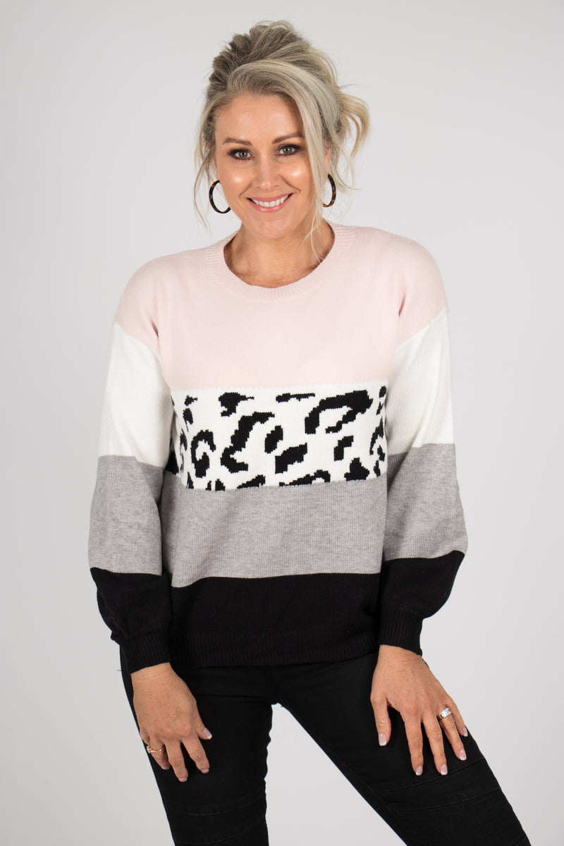 Aura Jumper in Pink