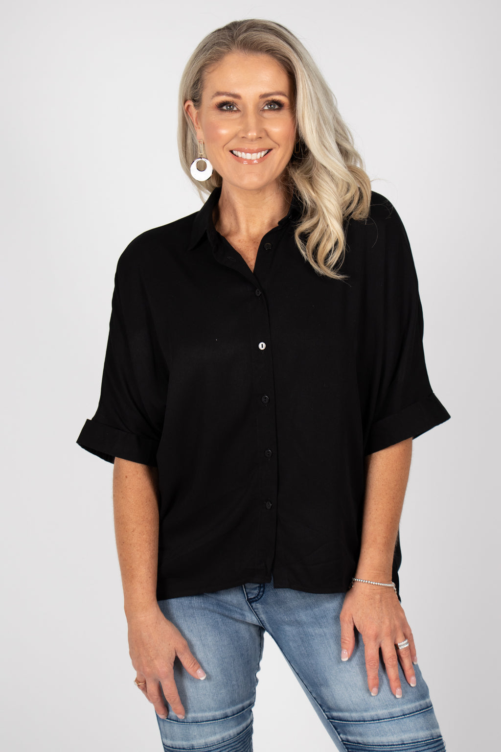 Ellis Shirt in Black