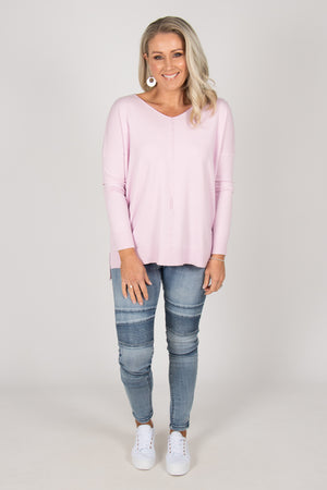 Jordene Knit Top in Mauve