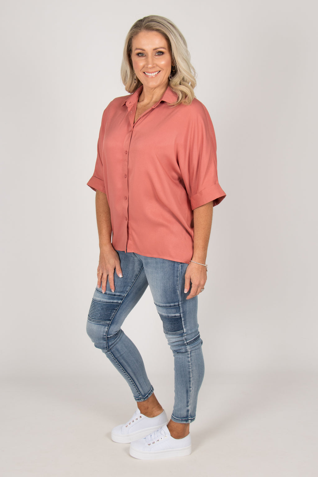 Ellis Shirt in Rosa