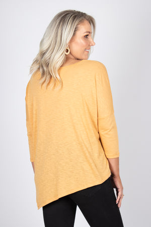 Nicole Top in Butter