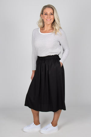 Landon Skirt in Black