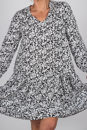 Rory Dress in Ink Blot