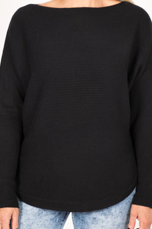Tandora Knit Top in Black