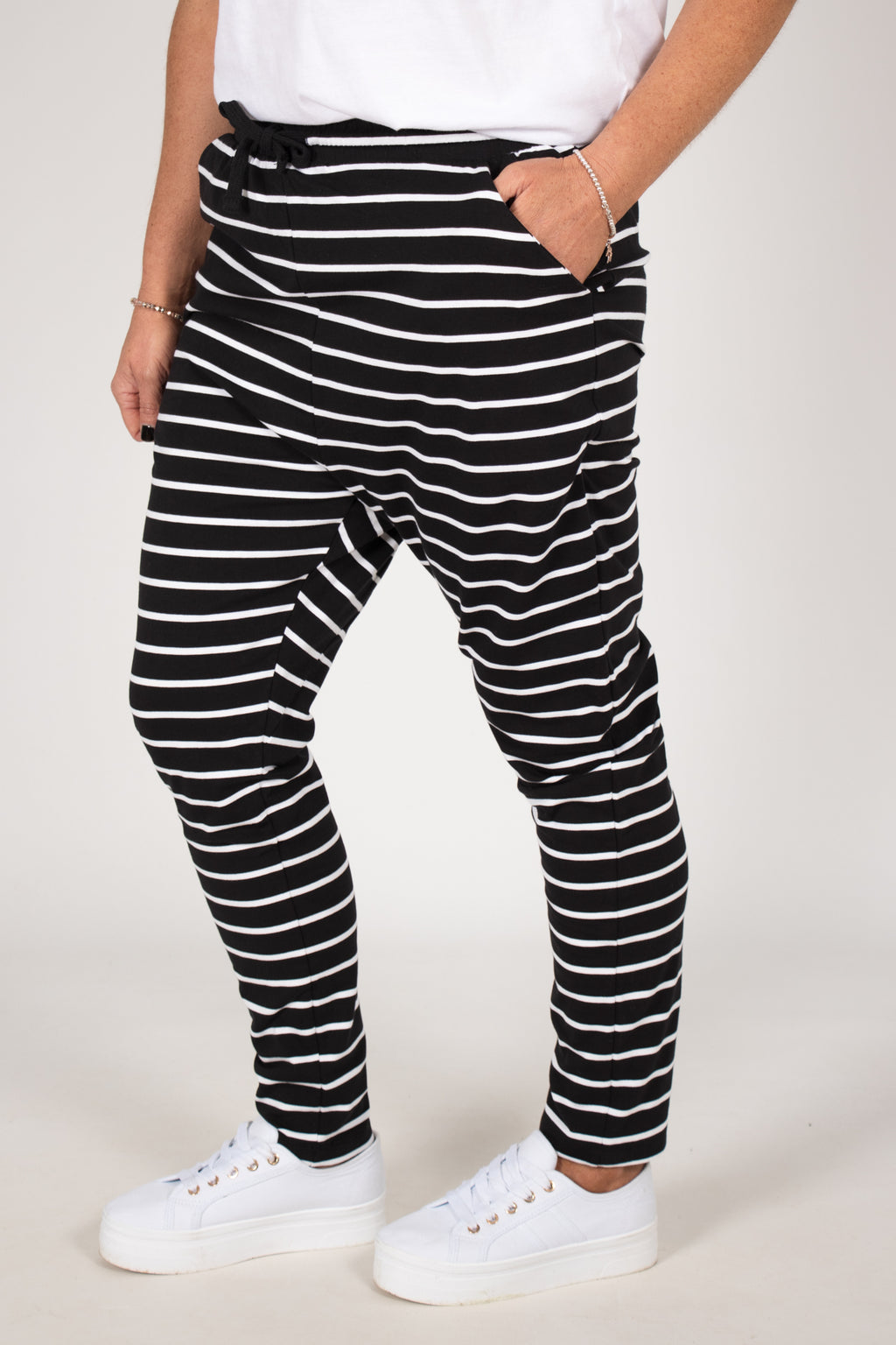 Jade Pant Black/White