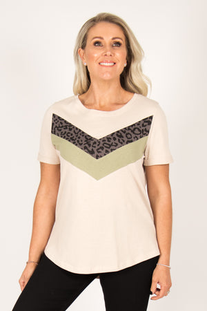Melody Top in Beige