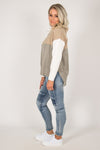 Alyssum Knit Jumper in Khaki