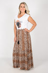 Belair Skirt in Leopard