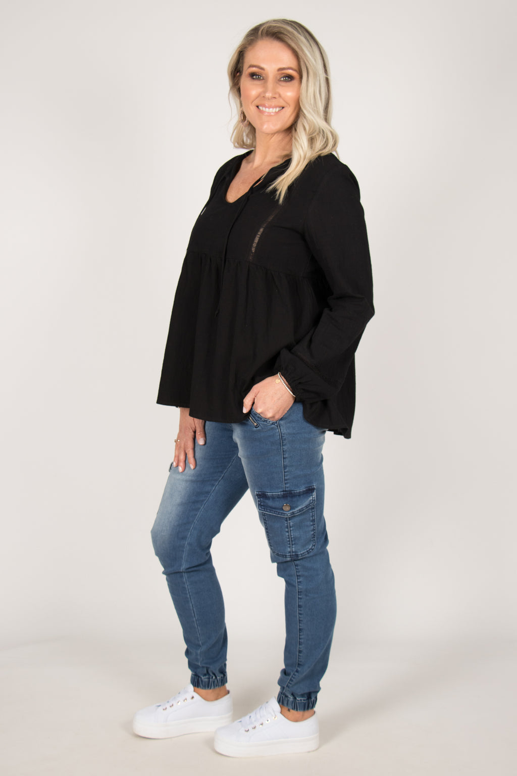Brielle Top in Black