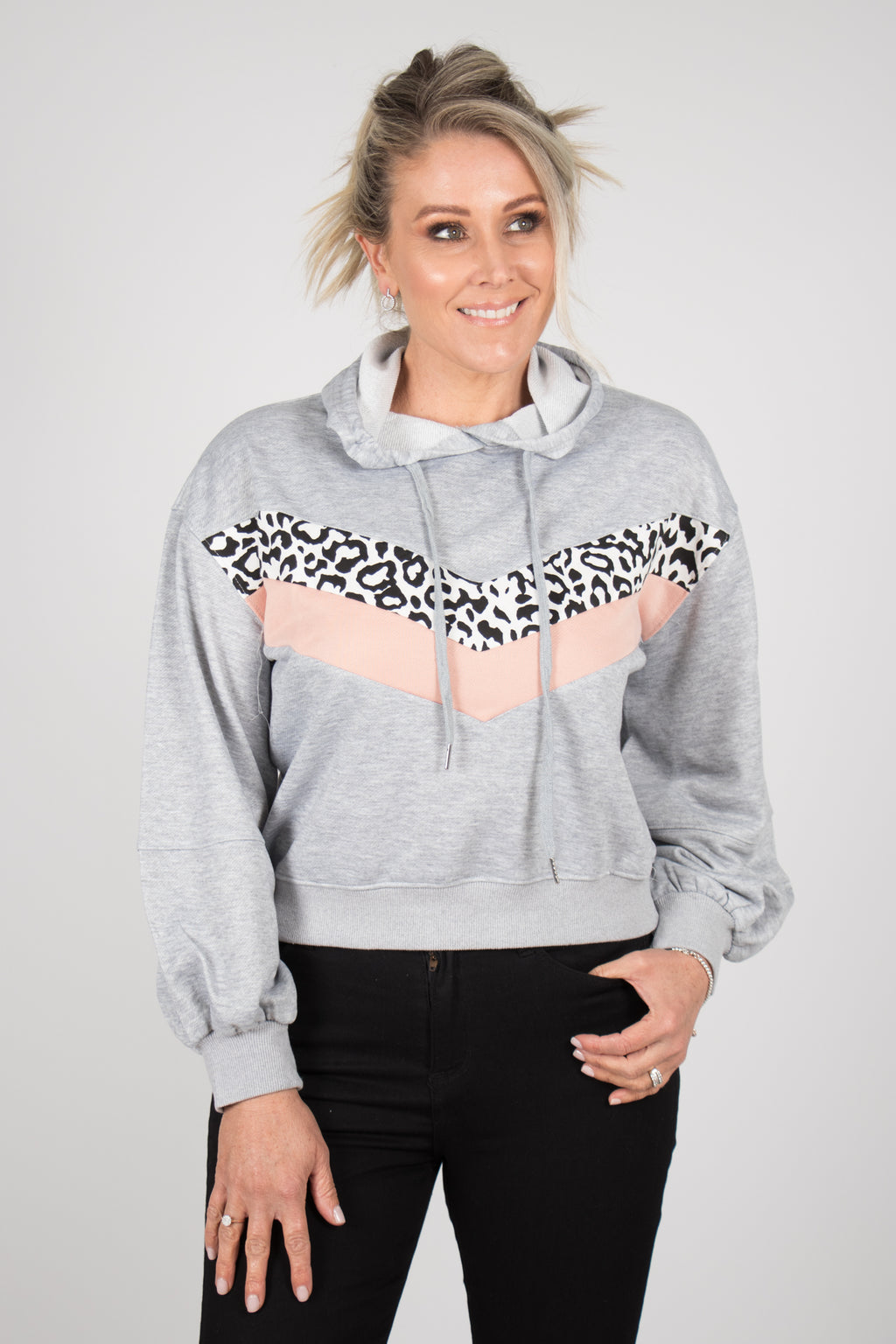 Shay Jumper in Grey