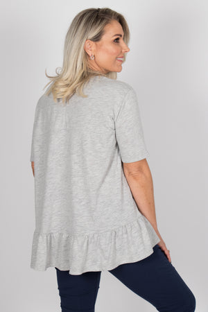 Elsa Top in Grey