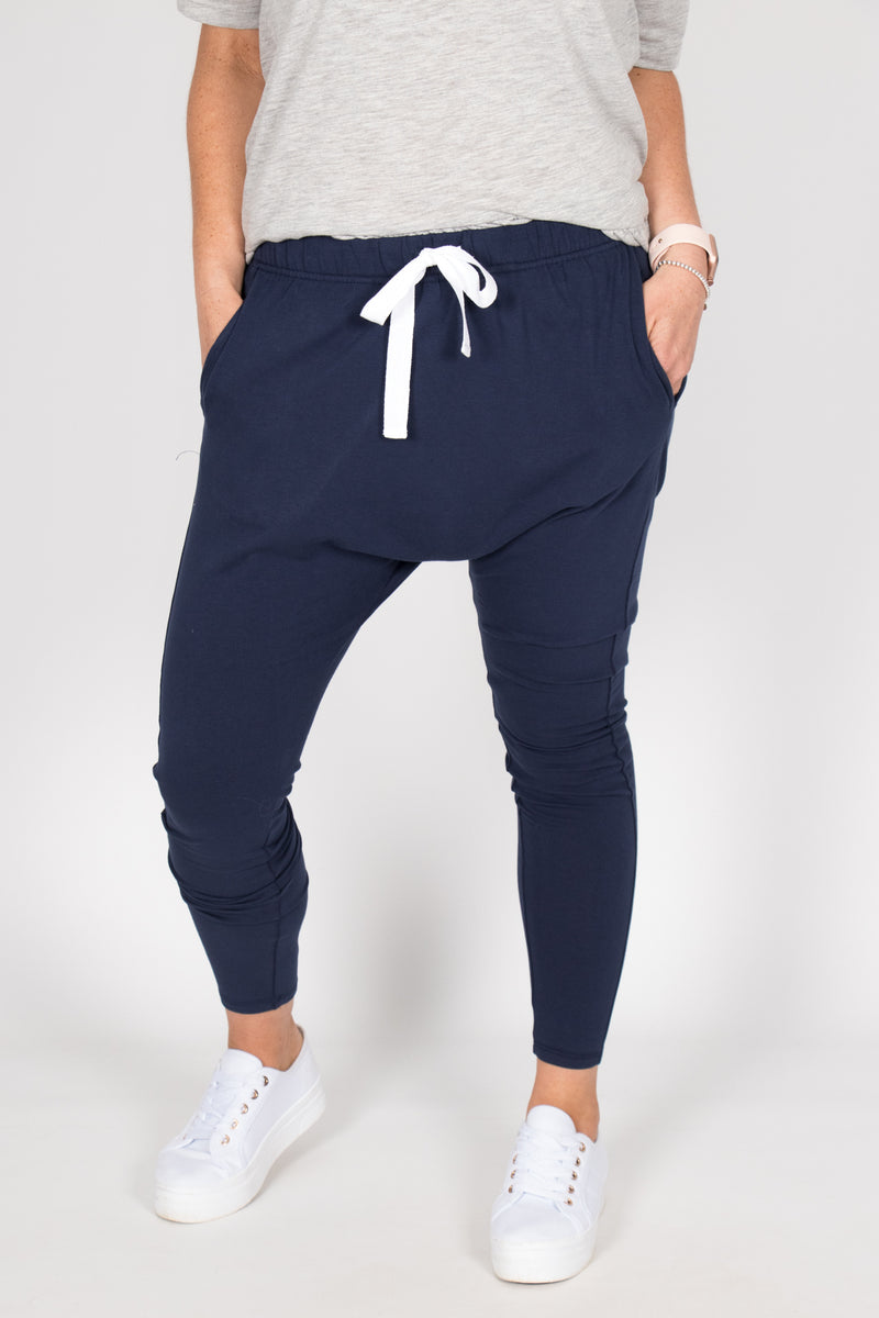 Kiera Jogger in Navy