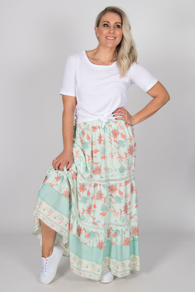Maya Skirt in Mint