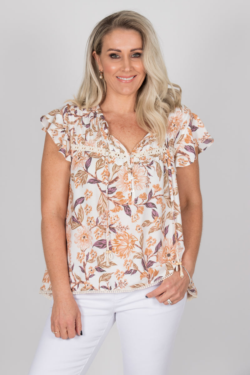 Berlyn Top in White