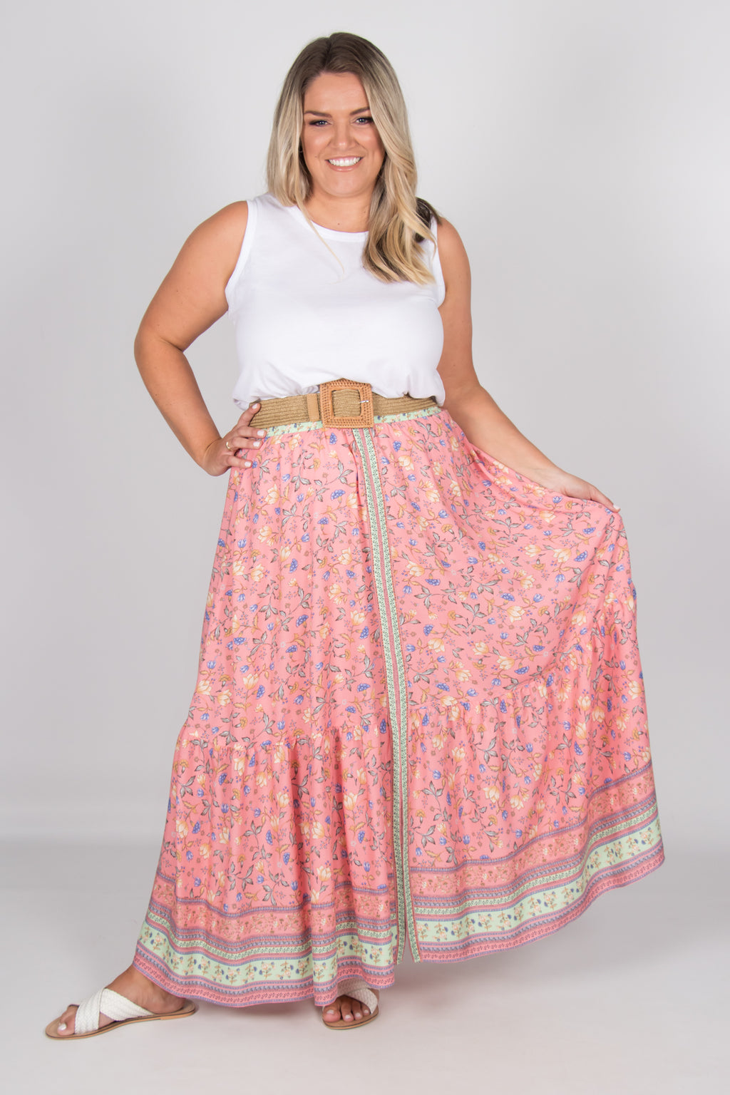 Camelia Skirt in Pink