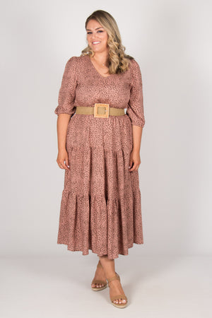 Tillie Dress in Dusty Pink
