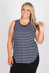 Keira Tank in Nautical