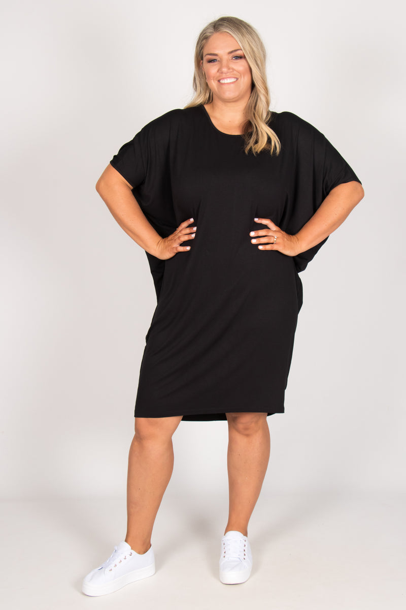 Maui Dress in Black