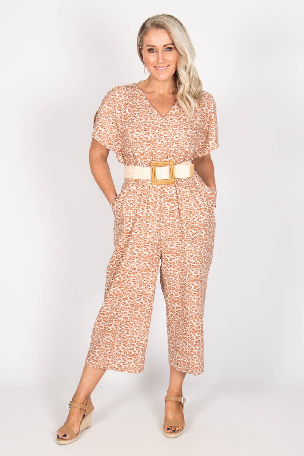 Jules Jumpsuit in Amazon