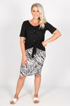 Alicia Midi Skirt in Instinct