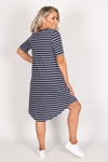 Nyree Dress in Nautical
