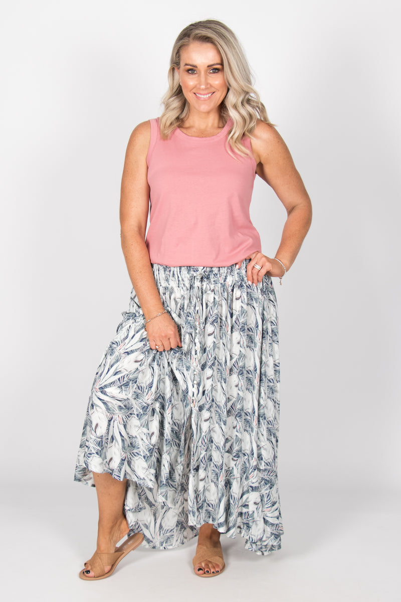 Zoe Skirt in Pastel Dreams