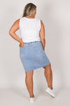 Harvey Denim Skirt in Light