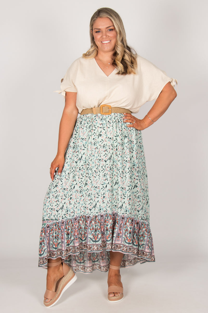 Tia Skirt in Mint