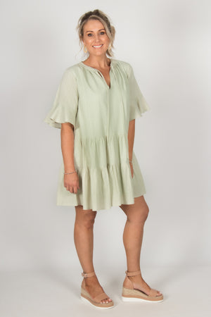 Paddy Dress in Mint