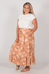 Finley Skirt in Caramel Dreams