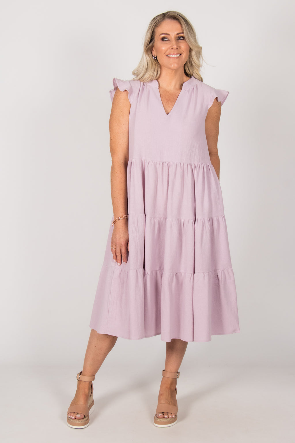 Blissful Dress in Lilac