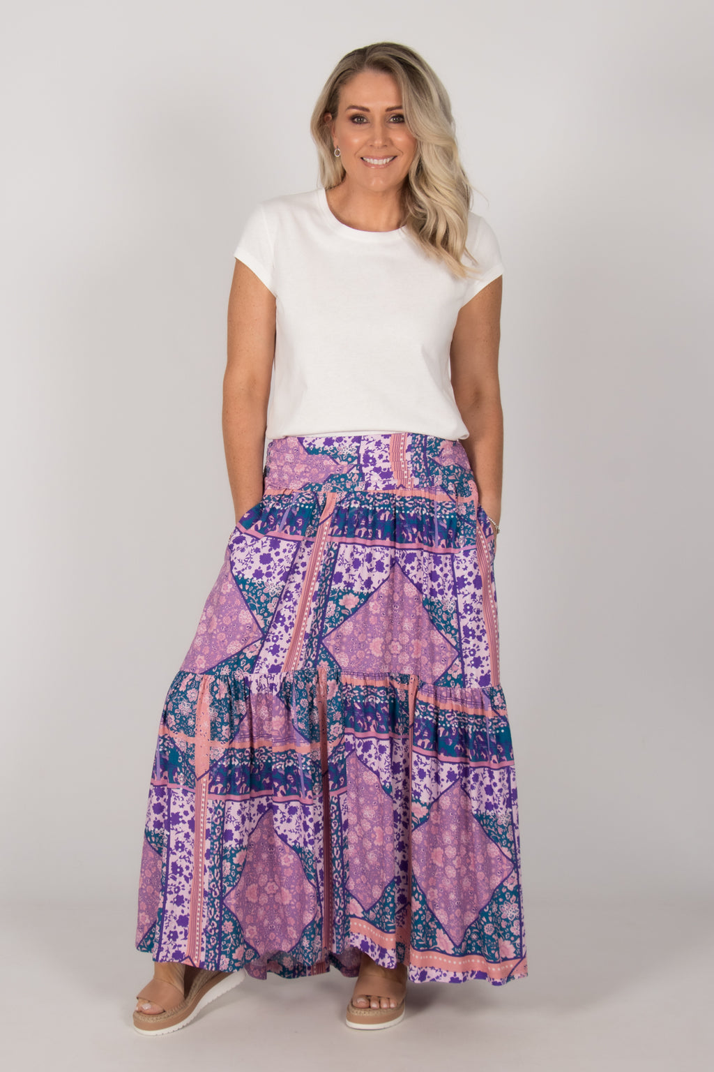 Euroa Skirt in Shades of Lavender