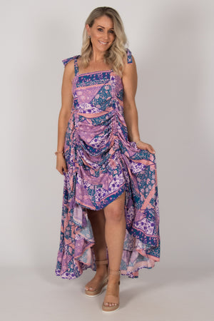 Shiloh Dress in Shades of Lavender