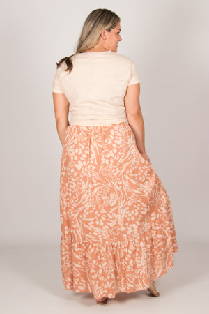 Amari Skirt in Caramel