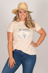 Gypsy Road Tee in Sand